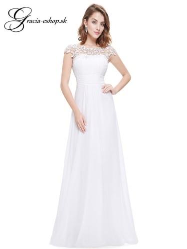 842879c815 Spoločenské šaty model 9993 - biela