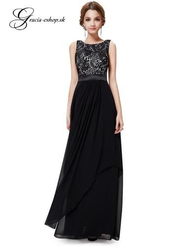 45d559b8f20f Spoločenské šaty model 8217 - čierna