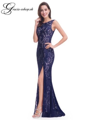 Spoločenské šaty model 8859 - tmavo modrá  4878e910331