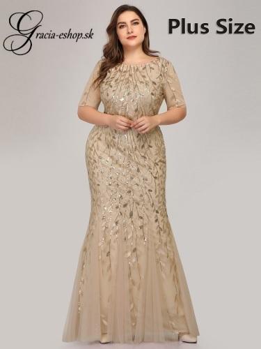 2dff956b6ecc Zlaté spoločenské šaty pre moletky jpg 375x500 Zlate spolocenske saty