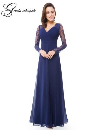 87b870f46b7b Spoločenské šaty model 8692 - tmavo modrá