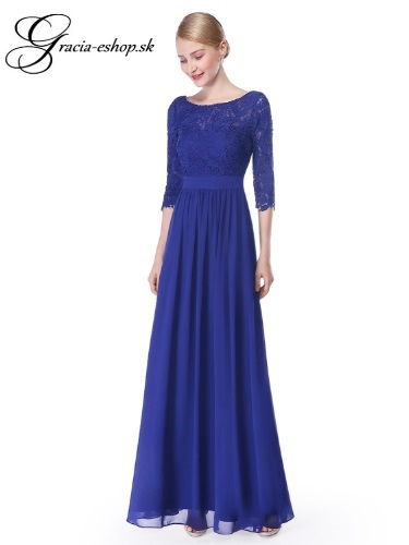 7951de8c9388 Spoločenské šaty model 8412 modrá