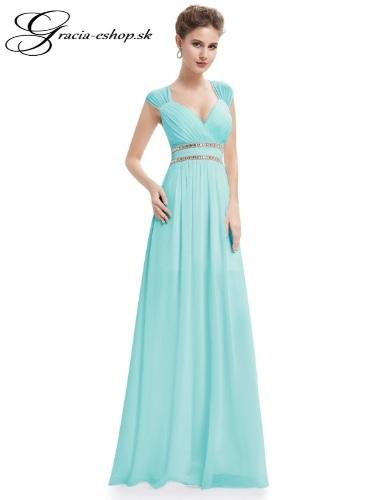95455c4bdf8e Spoločenské šaty model 8697 - tyrkysová