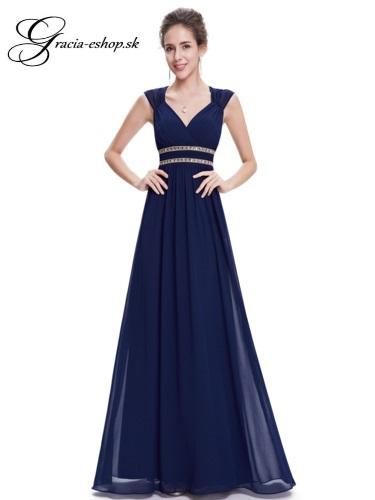 Spoločenské šaty model 8697 - tmavo modrá  0ff126e62ab