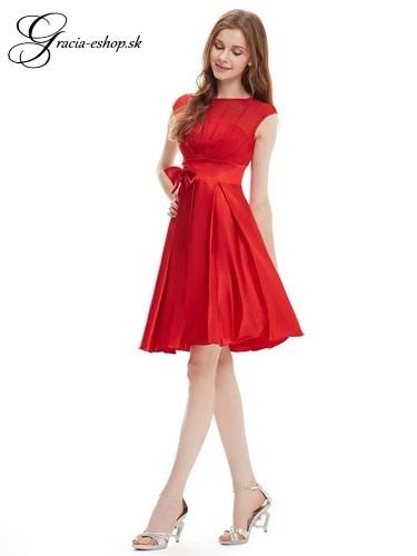 18a51cf0cef5 Spoločenské šaty model 6113 červená - L