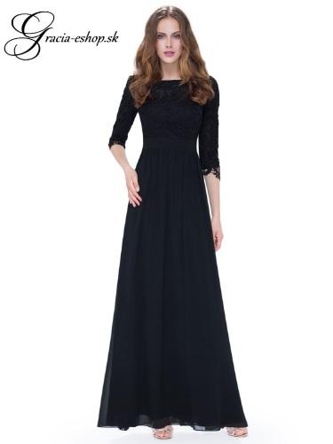 a333aceca9f2 Spoločenské šaty model 8412 čierna