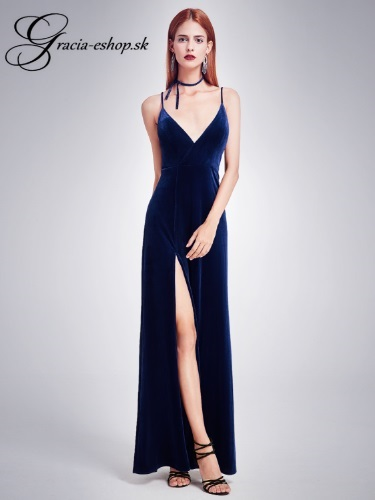 b85d4a1c5a1b Spoločenské šaty model 7181 - tmavo modrá