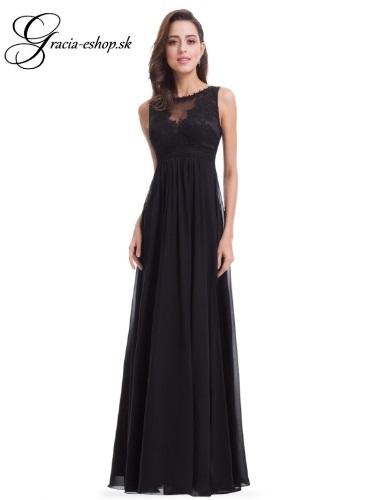 49b1f43c8e04 Spoločenské šaty model 8715 - čierna