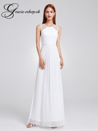 377913b2be55 Spoločenské šaty model 8742 - biela