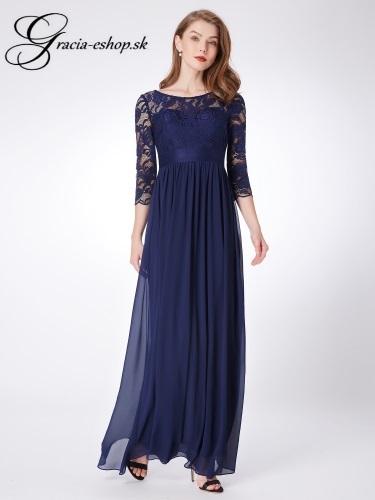 df0fcc693b70 Spoločenské šaty model 7412 - tmavo modrá
