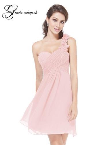 8cffc44efc53 Spoločenské šaty model 3535 - svetlo ružová