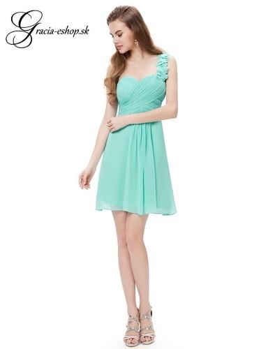 caaae2001131 Spoločenské šaty model 3535 - sv. tyrkysová