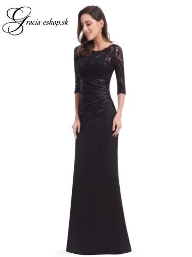 b923db2aa872 Spoločenské šaty model 9882 čierna