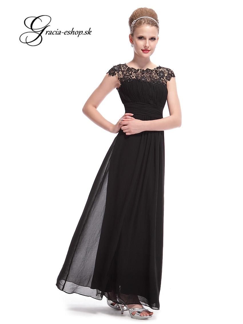 63e059a0b13f Spoločenské šaty model 9993 - čierna