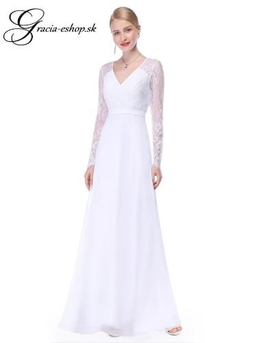 Spoločenské šaty model 8692 - biela  1951fd30d2d