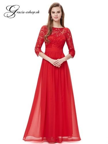 Spoločenské šaty model 8412 červená  213fdf43724
