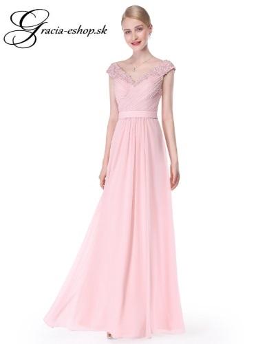 552c7b0debec Dlhé večerné šaty na ramienka model 8633 - XS