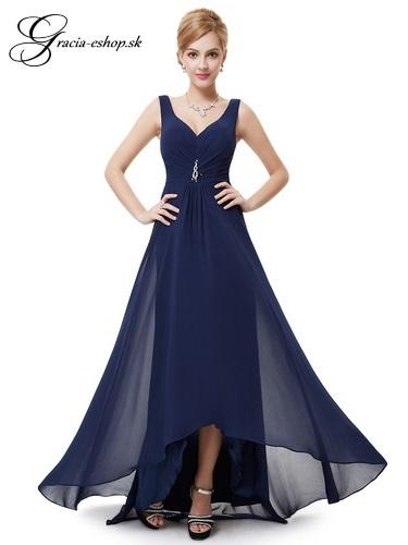 Spoločenské šaty model 9983 - tmavo modrá  17d599cd30b