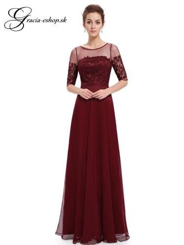 4381692d14eb Spoločenské šaty model 8459 - bordová