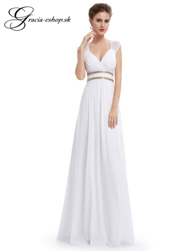 410339117e60 Spoločenské šaty model 8697 - biela