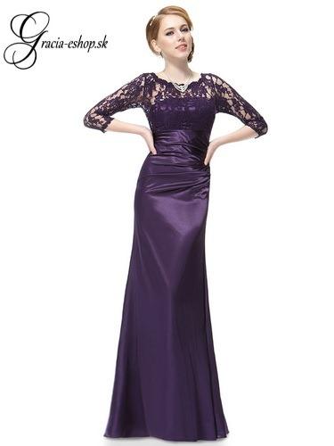 4b29fd61f Spoločenské šaty model 9882 fialová | Svadobné šaty, spoločenské ...