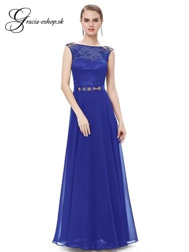 062547e32416 Spoločenské šaty model 8505 modrá - XS