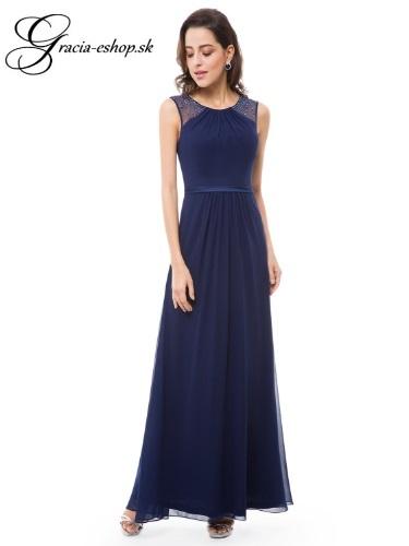 f0e48a766a5a Spoločenské šaty model 8742 - tmavo modrá