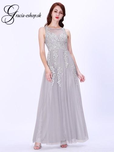 b02a336cca40 Tylové večerné šaty model 7546