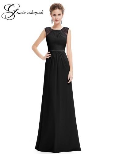 52c9e09a3c22 Spoločenské šaty model 8742 - čierna