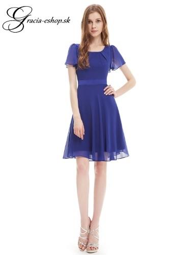 f477ce969274 Spoločenské šaty model 3990 modrá - M