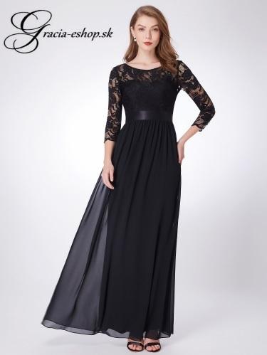 1216dc270454 Čierne čipkované spoločenské šaty model 7412 -XXL