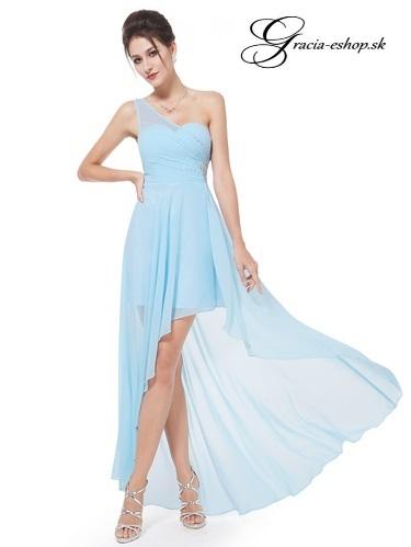 b67e9f884897 Spoločenské šaty model 8100 belasá - S