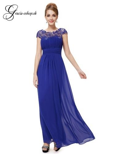 4697c2848a34 Spoločenské šaty model 9993 modrá - XS
