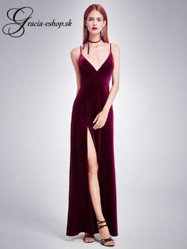 4bffd86dcccd Spoločenské šaty model 7181 - bordová