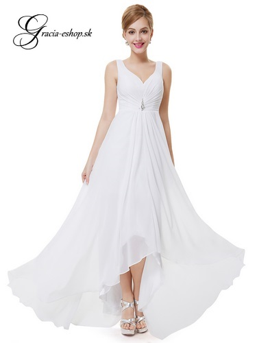 4d4ad4e778a1 Spoločenské šaty model 9983 - biela