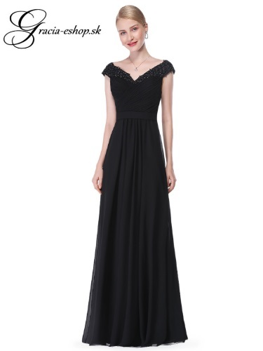 e62a79118669 Spoločenské šaty model 8633 - čierna
