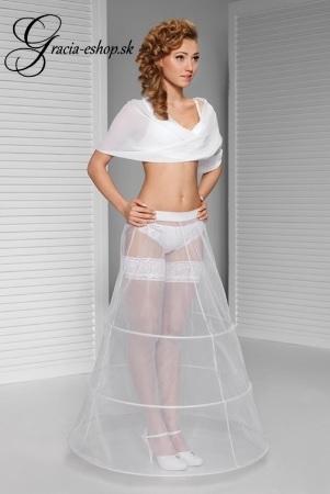 fd4d6fc6f218 Trojkruhová svadobná spodnica