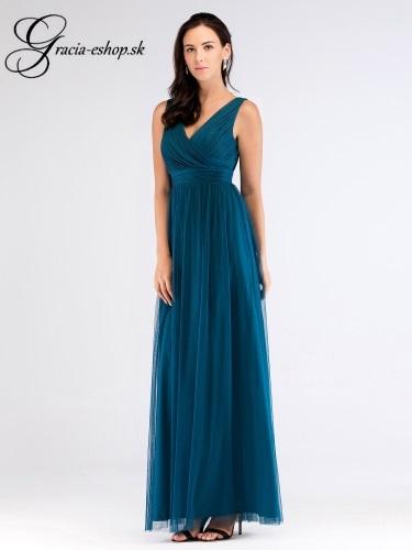 ca4872e14518 Večerné tylové šaty na ramienka model 7510