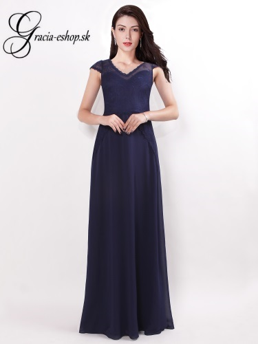 9d37b828b2a0 Dlhé spoločenské šaty s krajkou model 7437