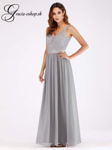 36b28d2a0e9d Večerné šaty na ramienka model 7516
