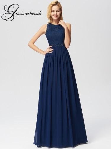 81126edaaf79 Dlhé čipkované večerné šaty model 7391