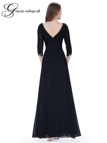 Spoločenské šaty model 8412 čierna  01efc62996b