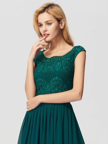 Spoločenské šaty so skladanou sukňou 501904476b6