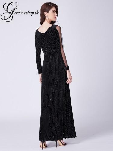 8c558a6745b3 Čierne elegantné večerné šaty model 7394