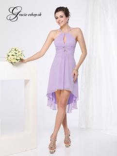 Spoločenské šaty model 3643 sv. fialová - S empty 66e3da71cb9