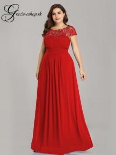 b0349dfbaba4 Červené spoločenské šaty pre moletky model 9993 empty