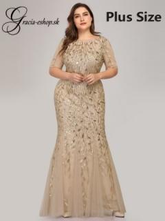 5c7ea3545208 Zlaté spoločenské šaty model 7707 empty
