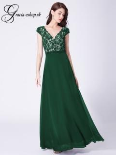 2b30dd149df0 Zelene spoločenské šaty s výstrihom model 7344 - S empty
