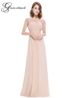 Spoločenské šaty model 9993 - telová empty e26d7eb2097