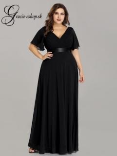 6a840826b2c2 Čierne spoločenské šaty s rukávmi model 9890 empty